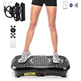 AGM 3D Vibrationsplatte, VP 200 Profile Vibrationsgerät Fitness mit 3D Wipp Vibration Plate...