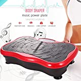 ANCHEER Vibrationsplatte Fitness Home Vibrationsgerät Profi Vibration Plate inkl. Trainingsbänder,...