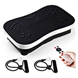 amzdeal Fitness Vibrationsplatte Weight Loss & Body Slimmer Vibrationsplattform Ganzkörpertraining...