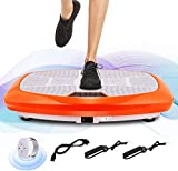 ANCHEER 3D Vibrationsplatte für Body Shape Muskelaufbau, Power Fitness Vibrationstrainer mit...