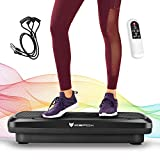 Icefox Fitness Vibrationsplatte mit Bluetooth 4.0 Lautsprecher, LCD Display & Fernbedienung, 10...