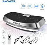 ANCHEER Vibrationsplatte 3D Wipp Vibrations Technologie for Fett Abbauen und Body Shaping von...