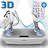 Kinetic Sports 3D Vibrationsplatte VPX800 VITAL Trainer PRO +2 leistungsstarke Motoren +Intuitiv...