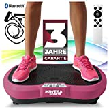 Miweba Sports Fitness 2D Vibrationsplatte MV100-3 Jahre Garantie - 3 multidimensionale...
