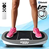 Miweba Sports Fitness 3D Vibrationsplatte MV200-3 Jahre Garantie - 3 Vibrationsmodi - Horizontal -...